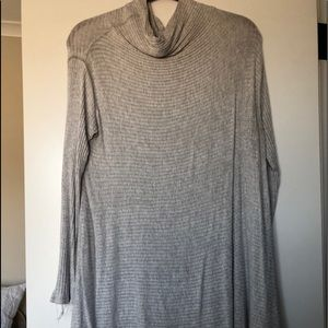 Gray Free People Sweater